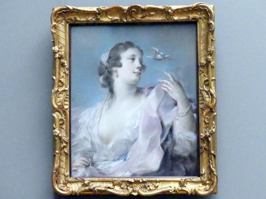 Rosalba Carriera: Die Luft, 1746
