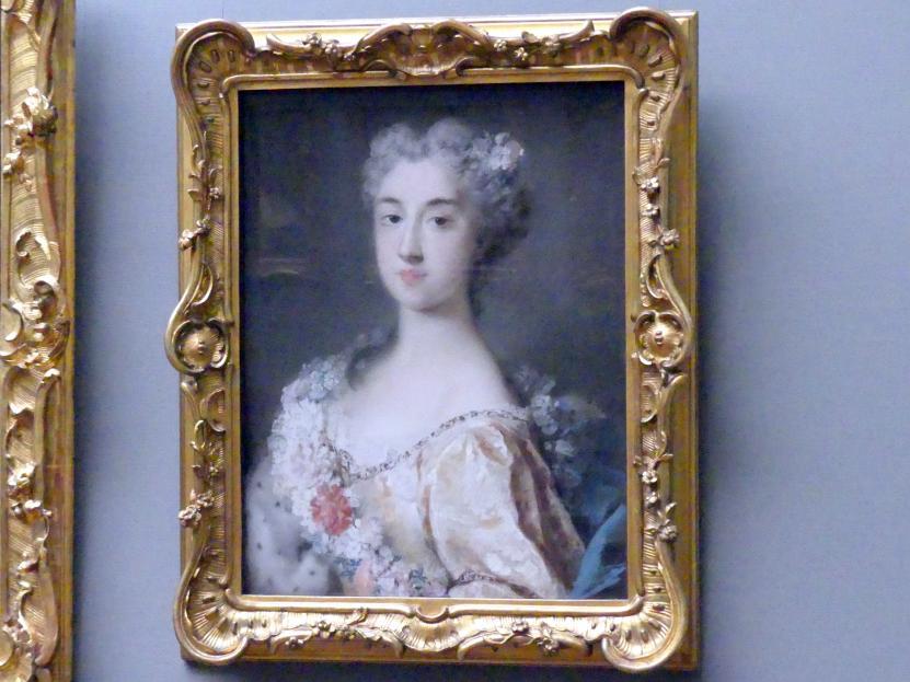 Rosalba Carriera: Prinzessin Benedetta Ernestina Maria von Modena (1697-1777), 1723