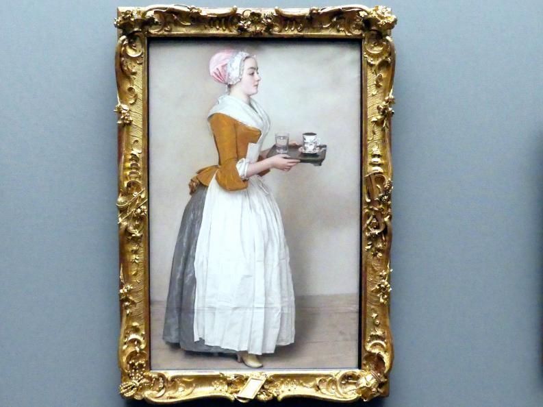Jean-Étienne Liotard: Das Schokoladenmädchen, um 1744