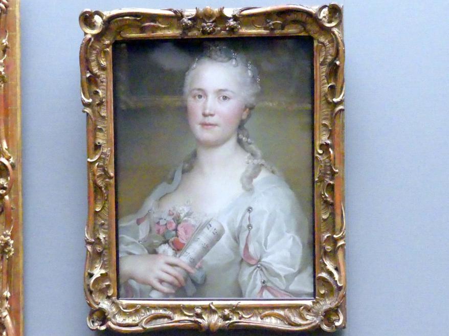 Anton Raphael Mengs: Die Sängerin Caterina Regina Mingotti (1722-1807), um 1750