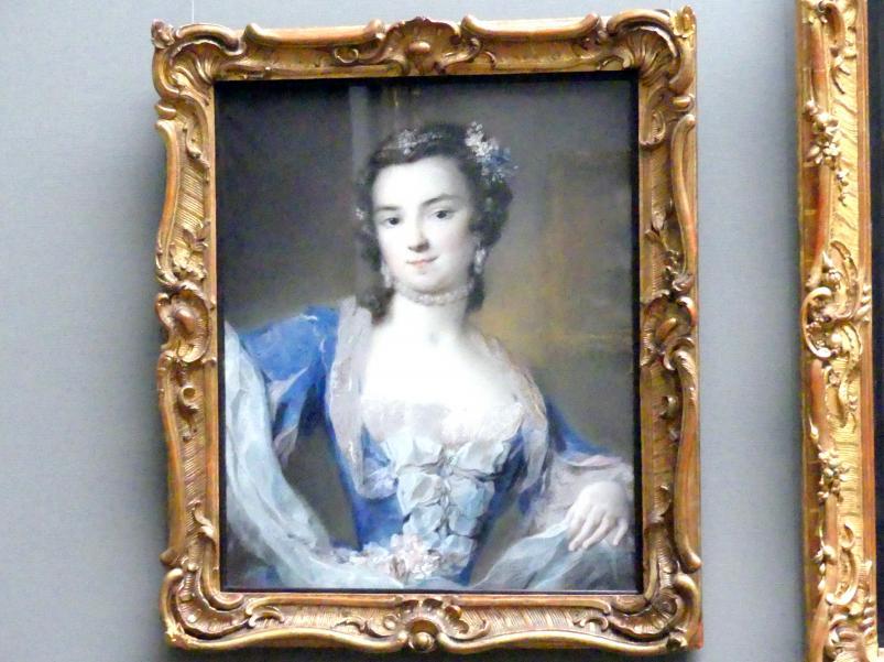 Rosalba Carriera: Die Tänzerin Barbara Campanini, genannt Barbarina (1721-1799), um 1739