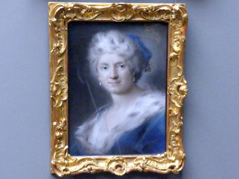 "Rosalba Carriera: Selbstbildnis als ""Winter"", 1731"