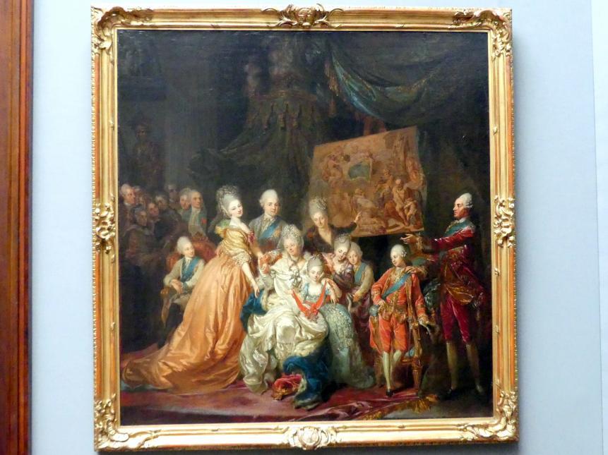 Johann Eleazar Schenau (Zeissig): Die kurfürstlich-sächsische Familie, 1772