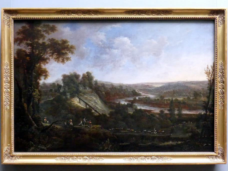 """Johann Alexander Thiele: Die Zeche """"Kurprinz Friedrich"""" bei Freiberg, 1749"""