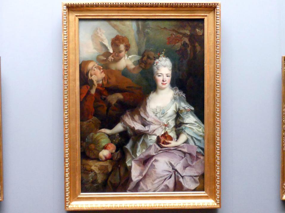 Nicolas de Largillière: Bildnis einer Dame als Pomona, Undatiert