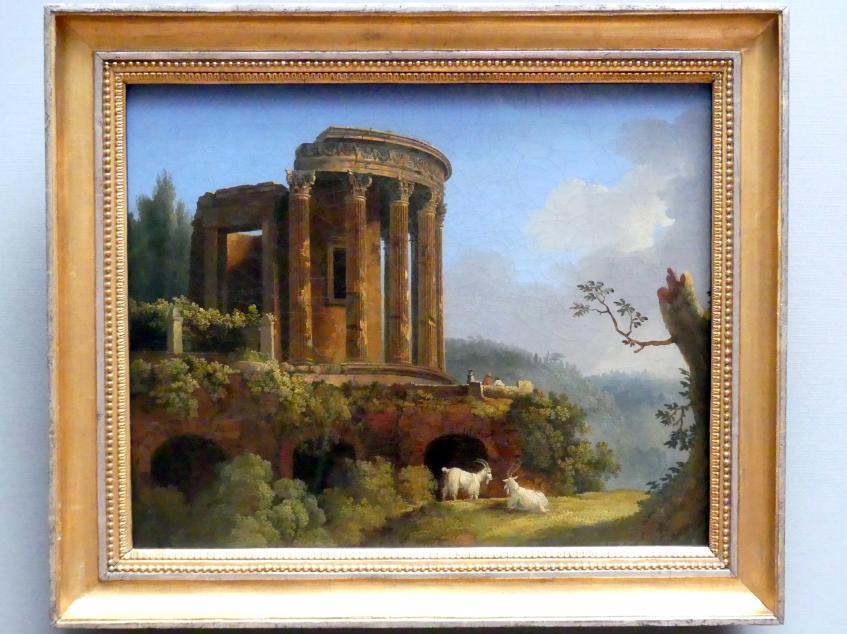 Jakob Philipp Hackert: Tempel der Sybille bei Tivoli, um 1770 - 1775