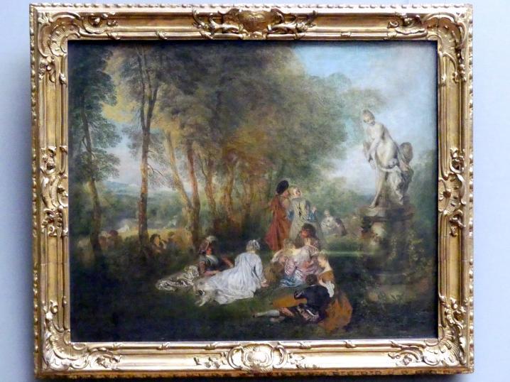 Antoine Watteau (Jean-Antoine Watteau): Das Liebesfest, 1718 - 1719