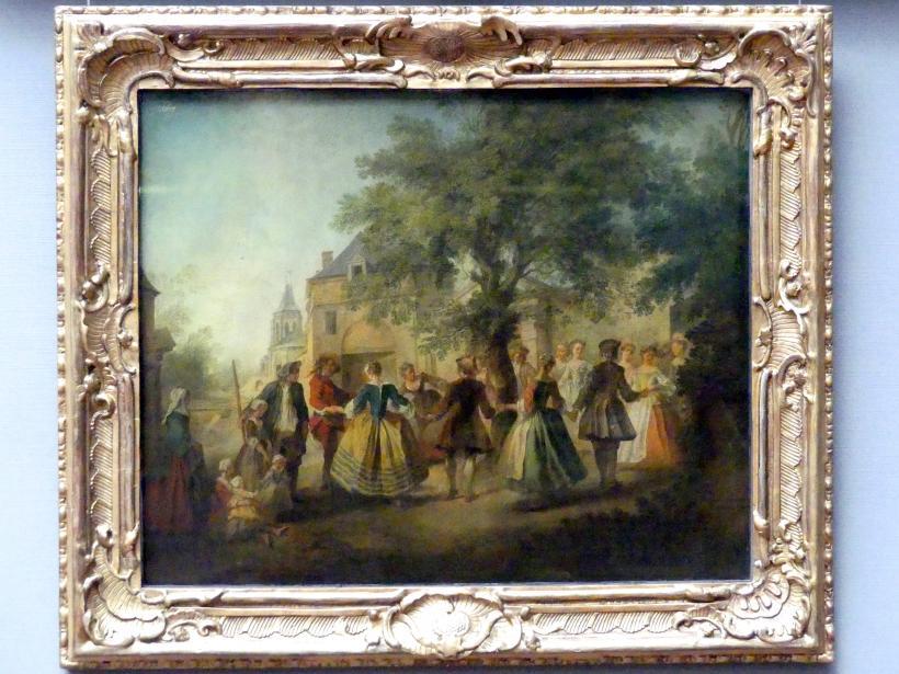 Nicolas Lancret: Der Tanz um den Baum, um 1720 - 1740
