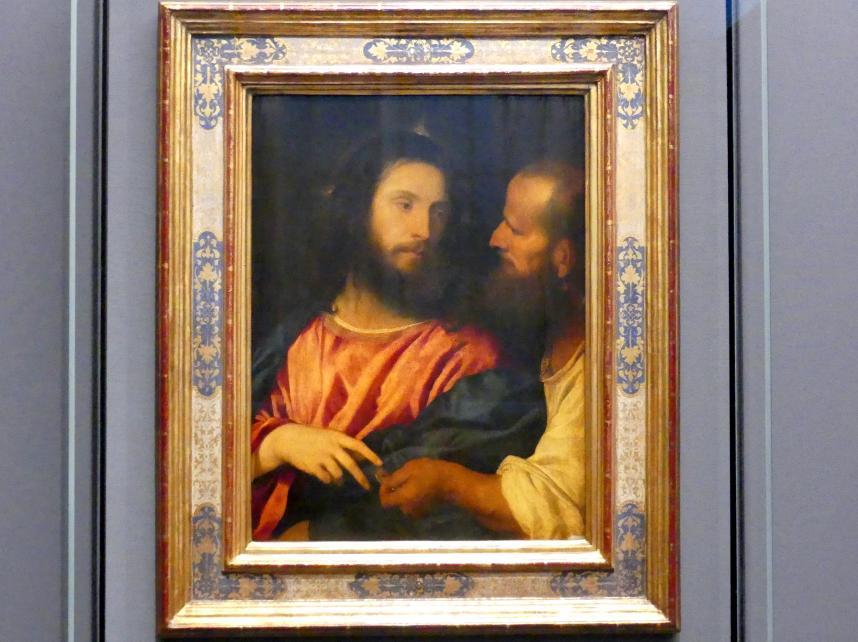 Tiziano Vecellio (Tizian): Der Zinsgroschen, um 1516
