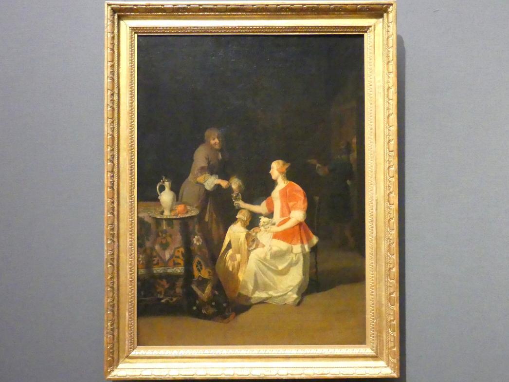 Jacob Lucasz Ochtervelt: Der galante Herr, 1669