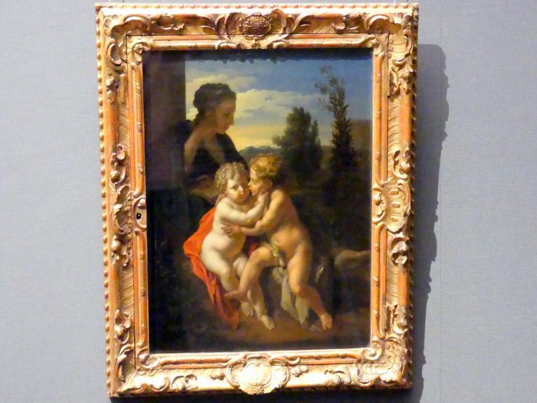 Adriaen van der Werff: Maria mit dem Jesusknaben und Johannes, 1715