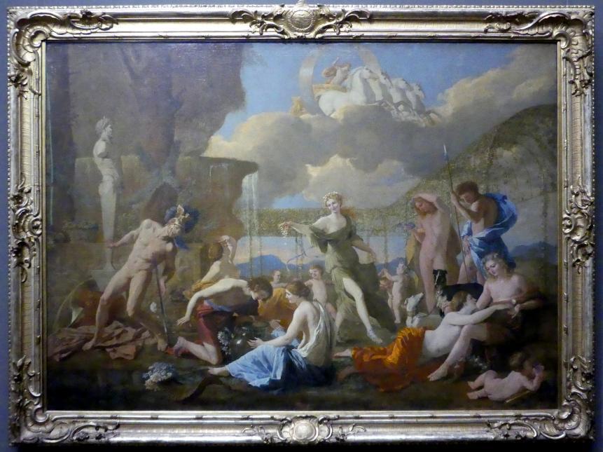 Nicolas Poussin: Das Reich der Flora, 1631
