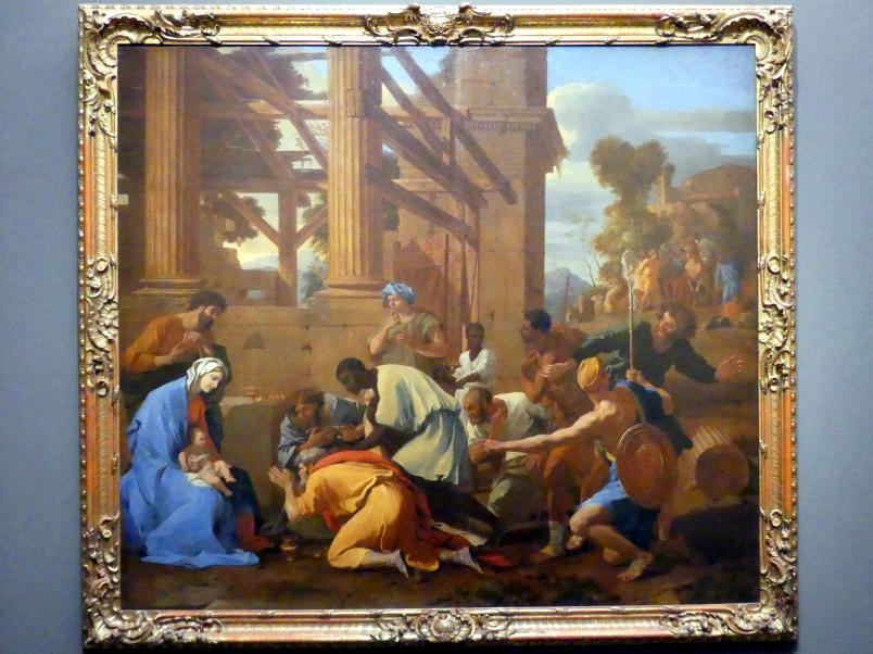 Nicolas Poussin: Die Anbetung der Könige, 1633