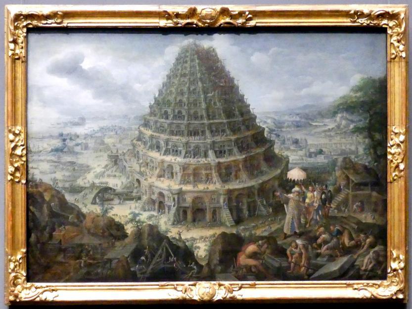 Marten van Valckenborch: Der Turmbau zu Babel, 1595