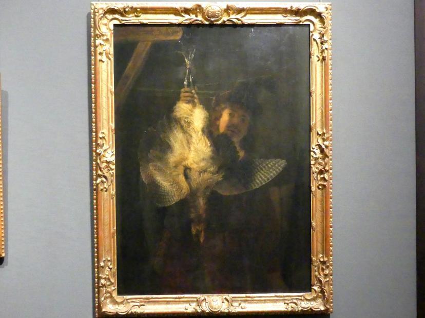 Rembrandt (Rembrandt Harmenszoon van Rijn): Der Rohrdommeljäger, 1639
