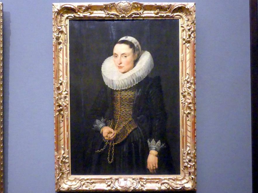 Anthonis (Anton) van Dyck: Bildnis einer Dame, um 1618 - 1621