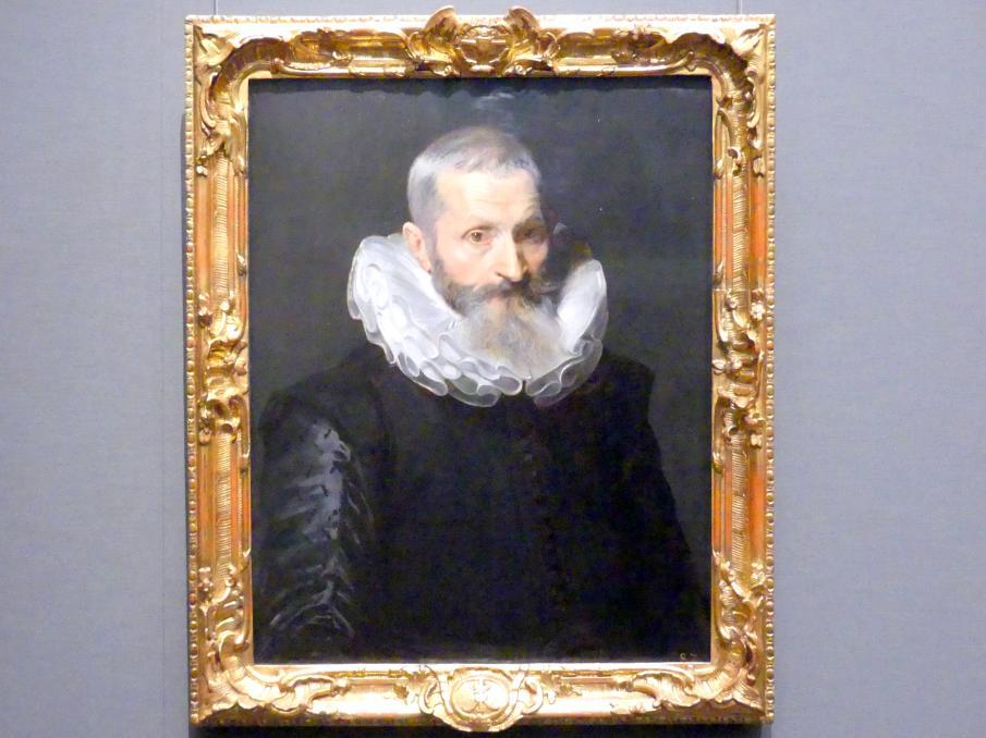 Anthonis (Anton) van Dyck: Bildnis eines alten Herrn, 1618