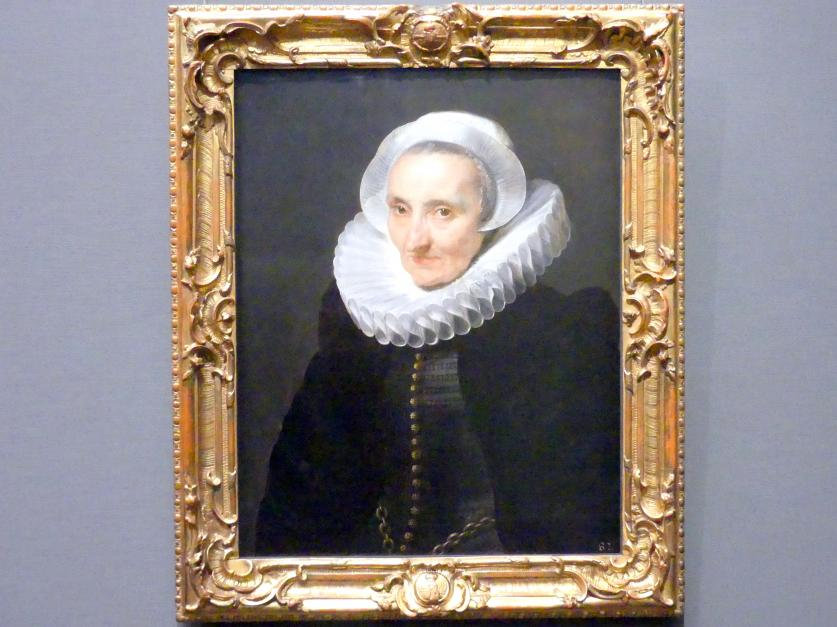 Anthonis (Anton) van Dyck: Bildnis einer alten Dame, 1618