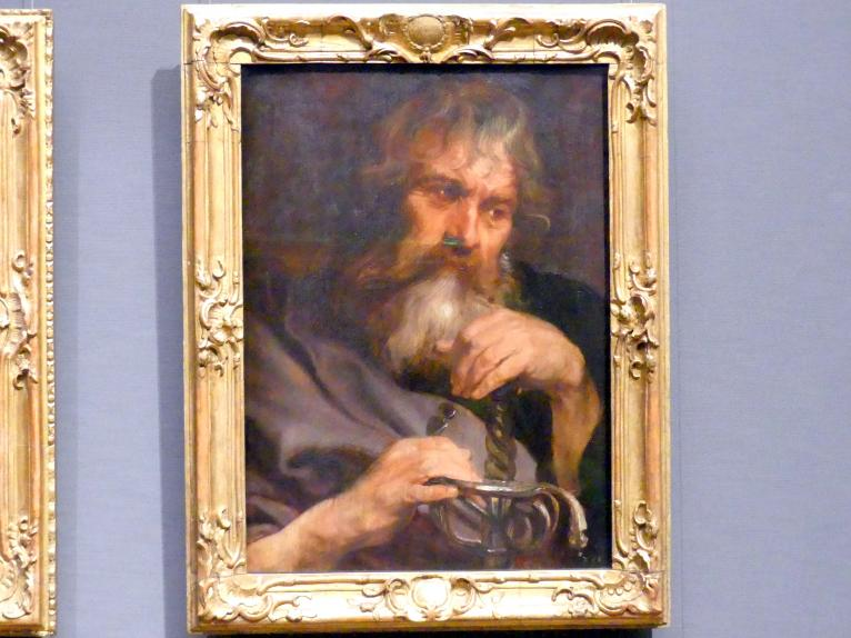 Anthonis (Anton) van Dyck: Der Apostel Paulus, um 1618 - 1620