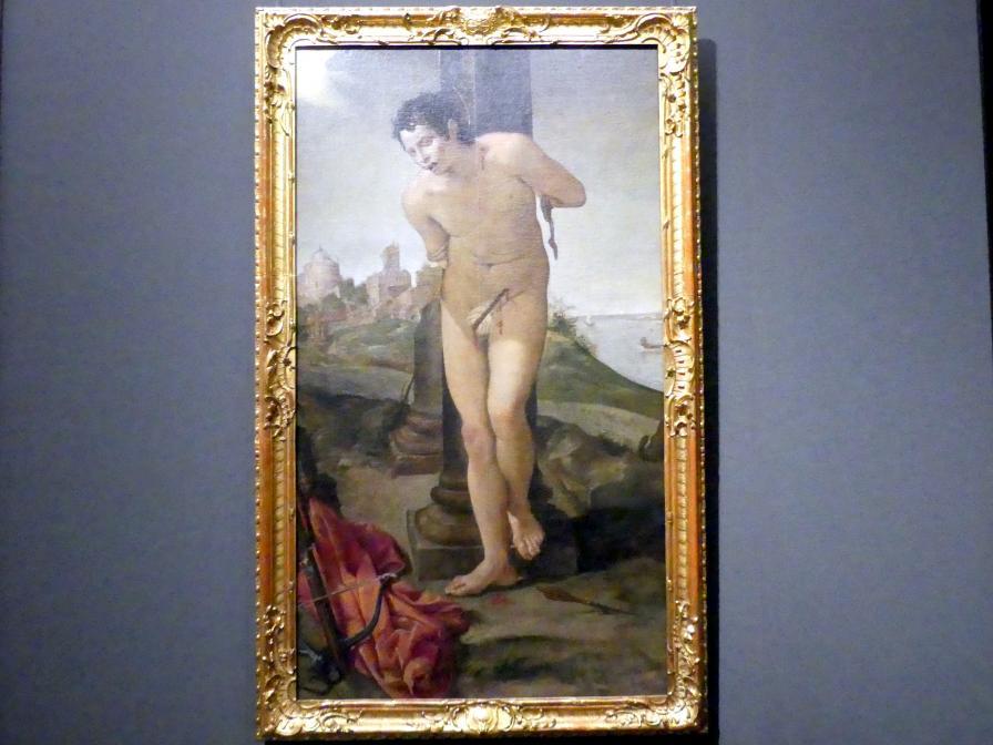 Annibale Carracci: Der heilige Sebastian, 1583 - 1584, Bild 1/2