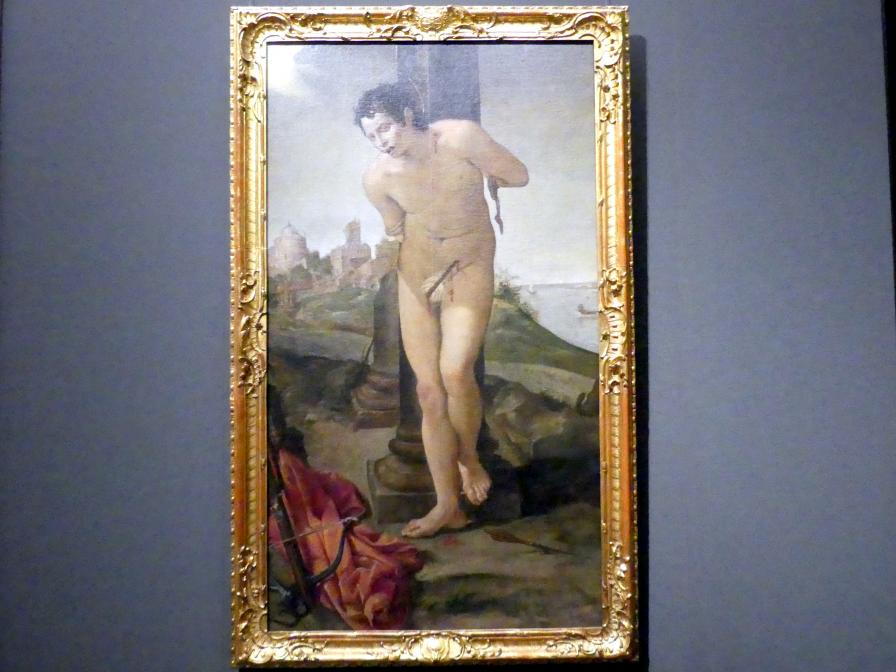 Annibale Carracci: Der heilige Sebastian, 1583 - 1584