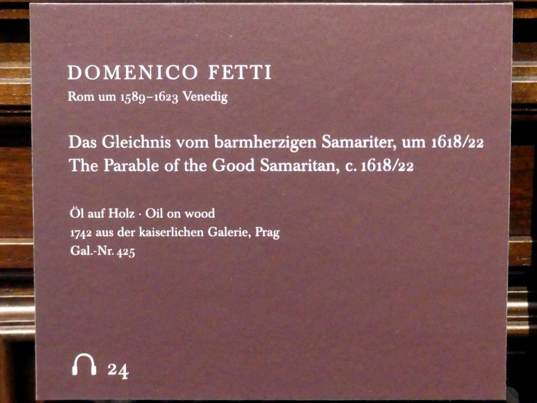 Domenico Fetti: Das Gleichnis vom barmherzigen Samariter, um 1618 - 1622