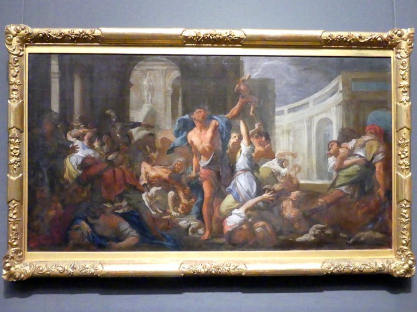 Francesco Trevisani: Studie zum Bethlehemtischen Kindermord, um 1714