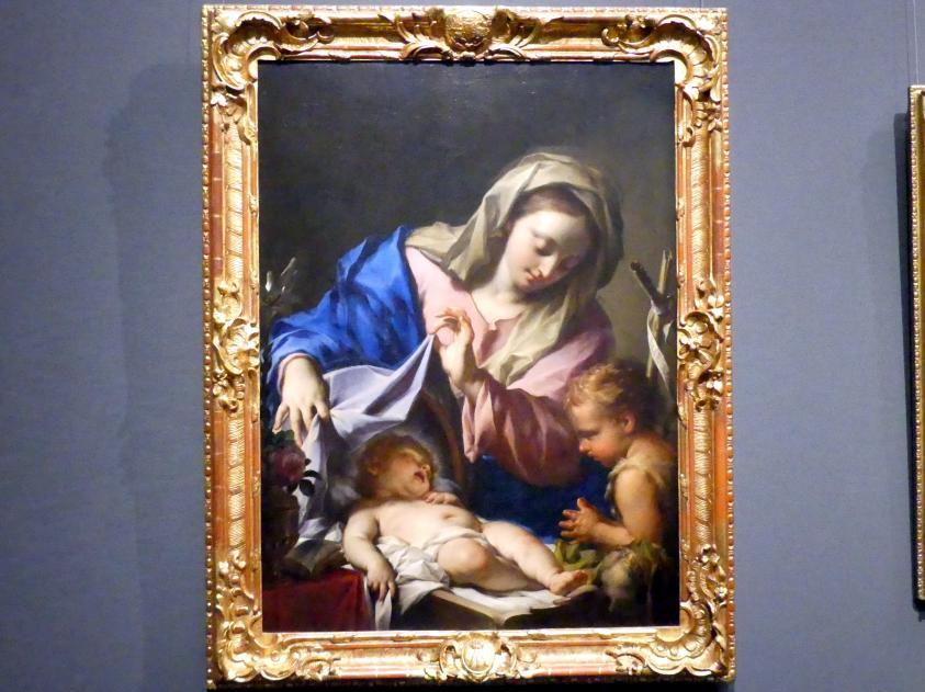 Francesco Trevisani: Maria mit dem Kind und dem kleinen Johannes, 1708