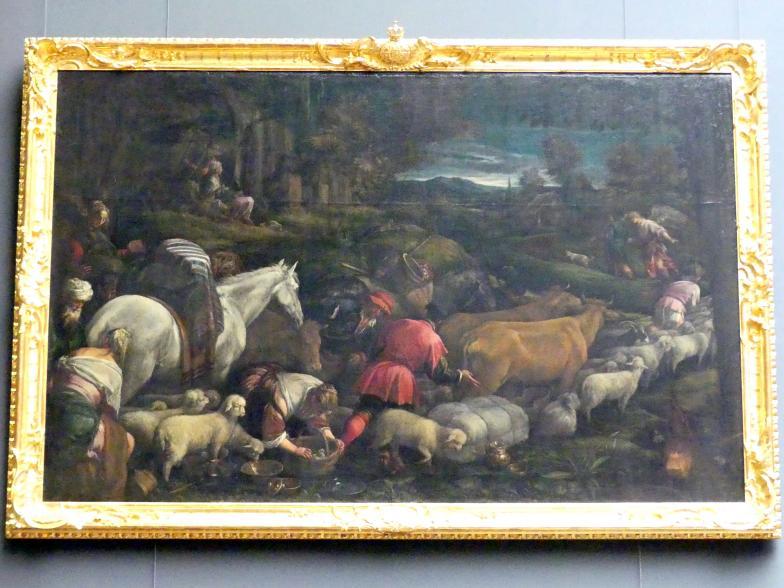 Jacopo Bassano (da Ponte): Die Heimreise des jungen Tobias, Undatiert