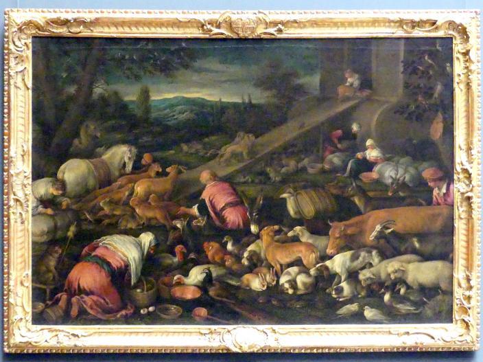 Jacopo Bassano (Werkstatt): Die Arche Noah, Undatiert