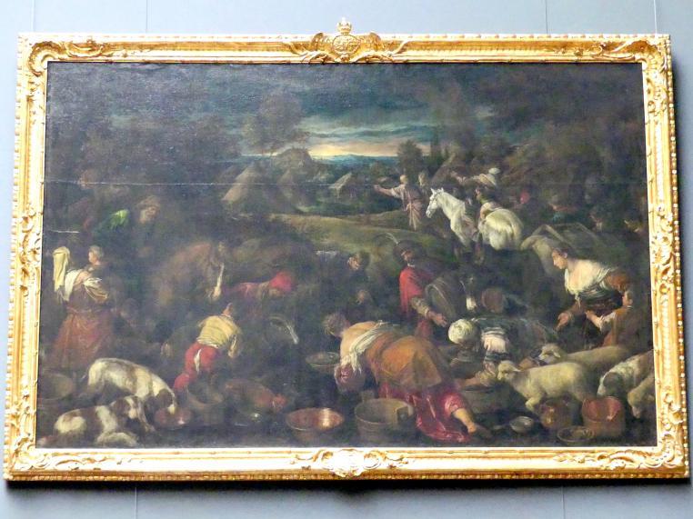 Jacopo Bassano (da Ponte): Die Israeliten in der Wüste, Undatiert