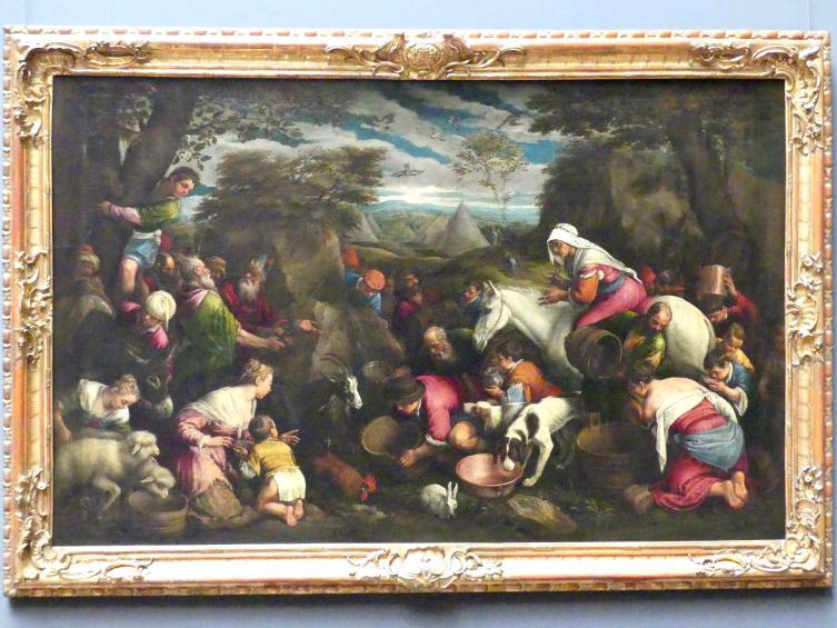 Jacopo Bassano (da Ponte): Moses am Felsenquell, Undatiert