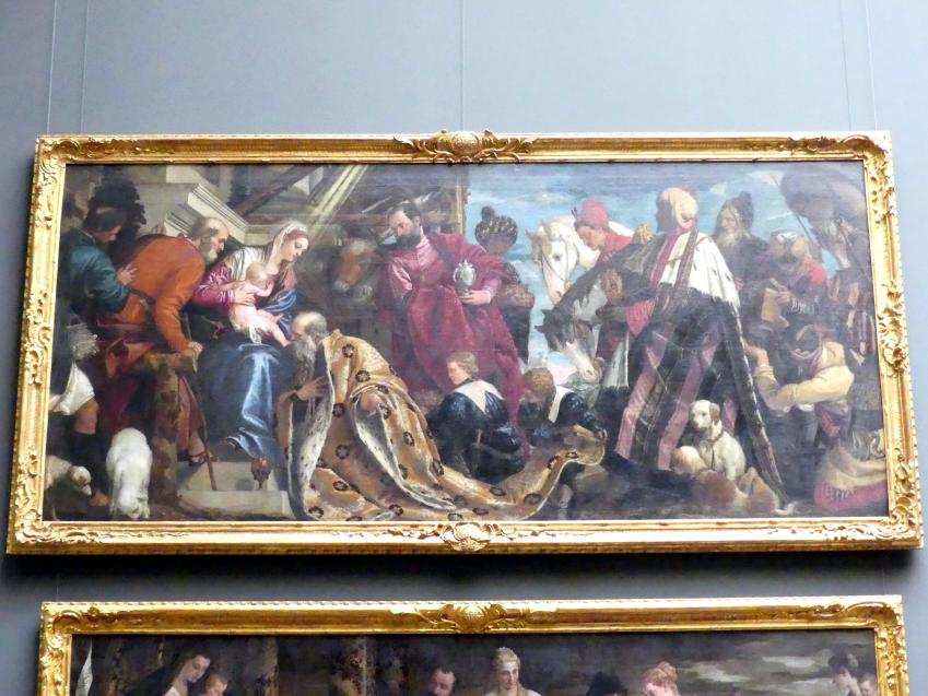 Paolo Caliari (Veronese): Die Anbetung der Könige, um 1571