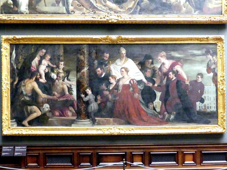 Paolo Caliari (Veronese): Die Madonna der Familie Cuccina, um 1571