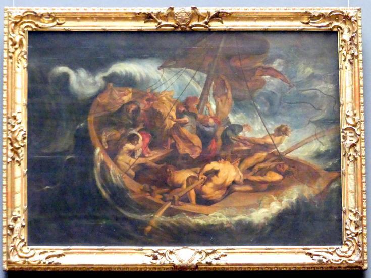 Peter Paul Rubens: Christus auf dem Meer, um 1611 - 1614