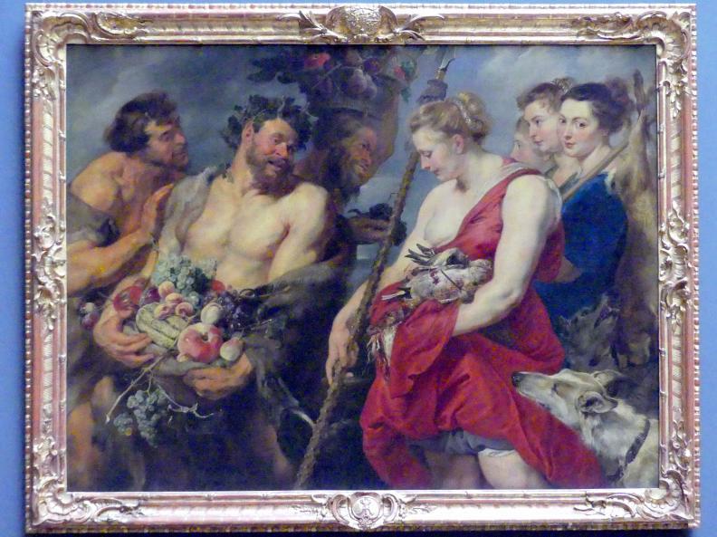 Peter Paul Rubens: Dianas Heimkehr von der Jagd, um 1616
