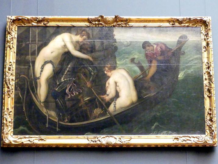 Jacopo Robusti (Tintoretto): Die Rettung der Arsinoe, Undatiert