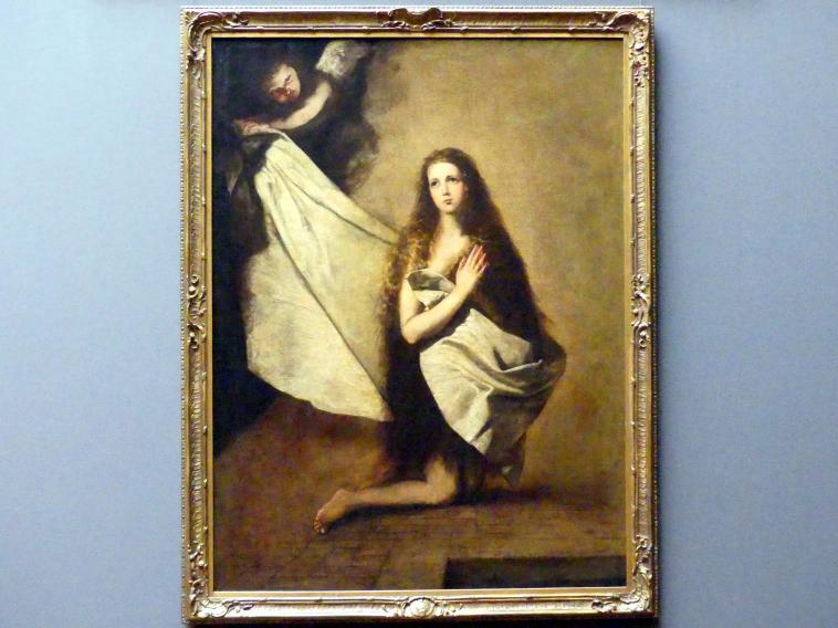 Jusepe de Ribera (Nachahmer): Die heilige Agnes, 1641