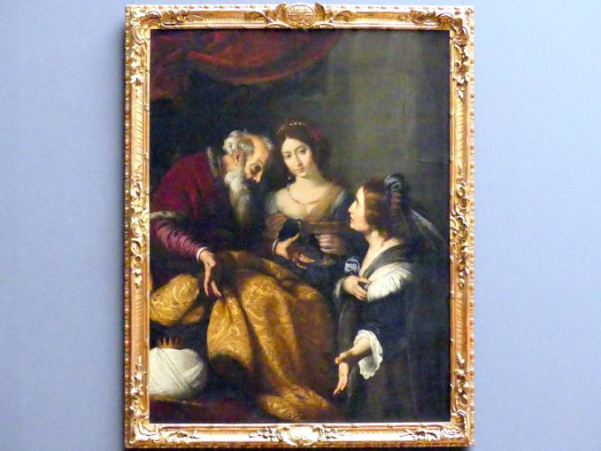 Bernardo Strozzi: Bathseba vor David, nach 1630
