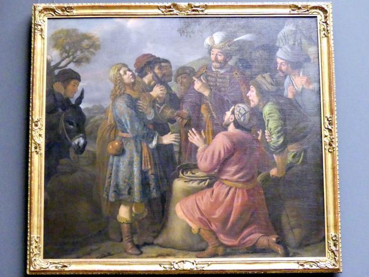 Jan Victors: Die Auffindung des Bechers in Benjamins Sack, um 1653