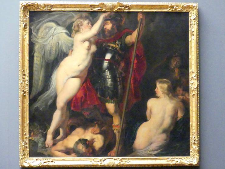 Peter Paul Rubens: Der Tugendheld, von der Siegesgöttin gekrönt, um 1615 - 1616
