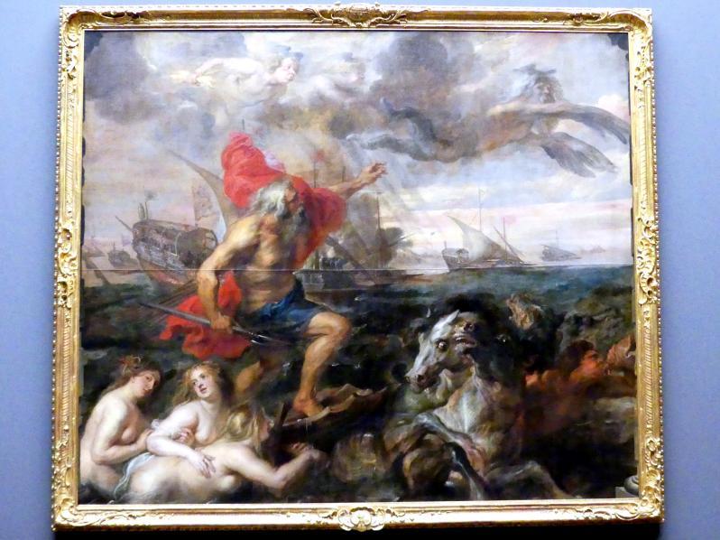 """Peter Paul Rubens: """"Quos egos"""" - Neptun, die Wogen beschwichtigend, um 1635"""