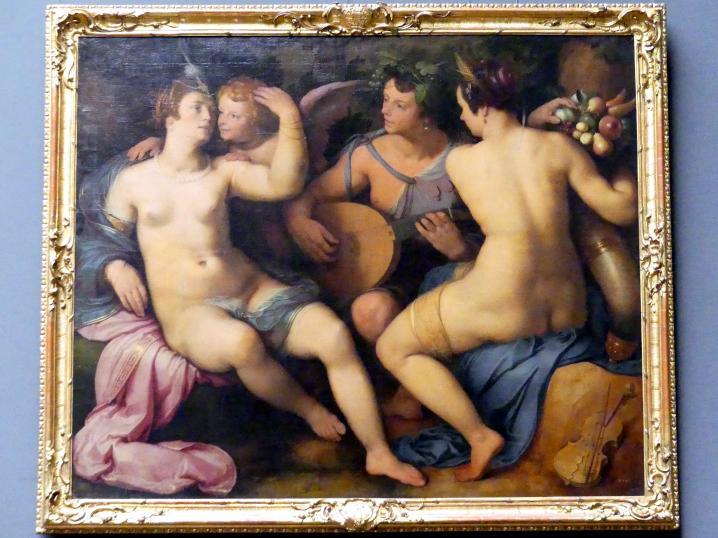 Cornelis van Haarlem: Venus, Bacchus und Ceres, 1614