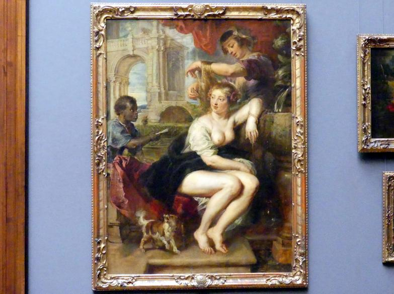 Peter Paul Rubens: Bathseba am Springbrunnen, Um 1635
