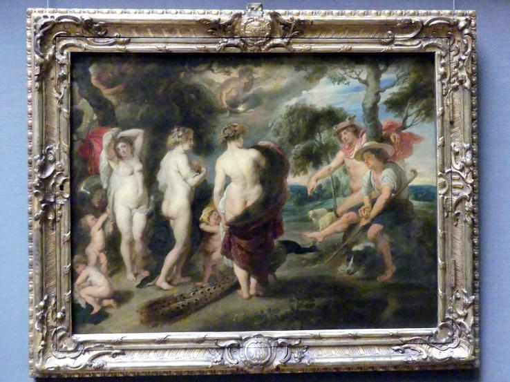 Peter Paul Rubens (Werkstatt): Urteil des Paris, Um 1635