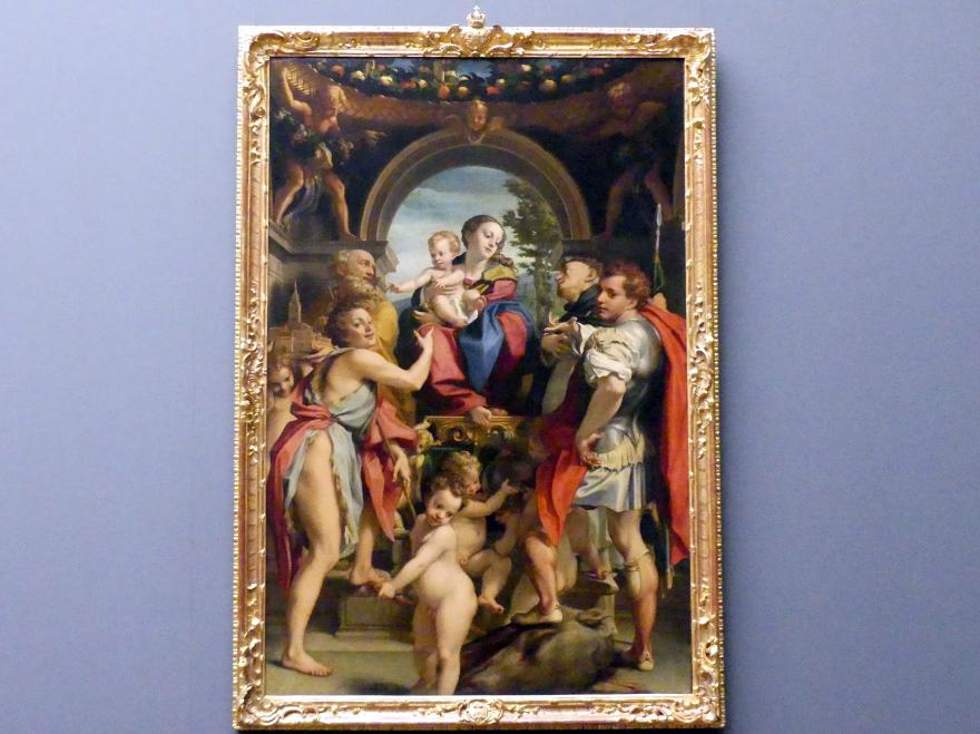 Antonio Allegri (Correggio): Die Madonna des heiligen Georg, 1530 - 1532