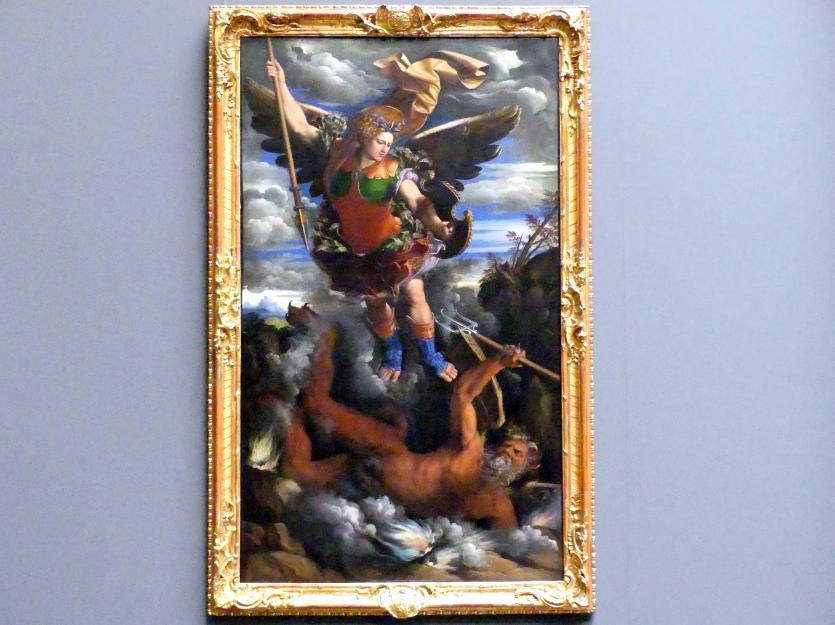 Giovanni Luteri (Dosso Dossi): Der Erzengel Michael, 1540