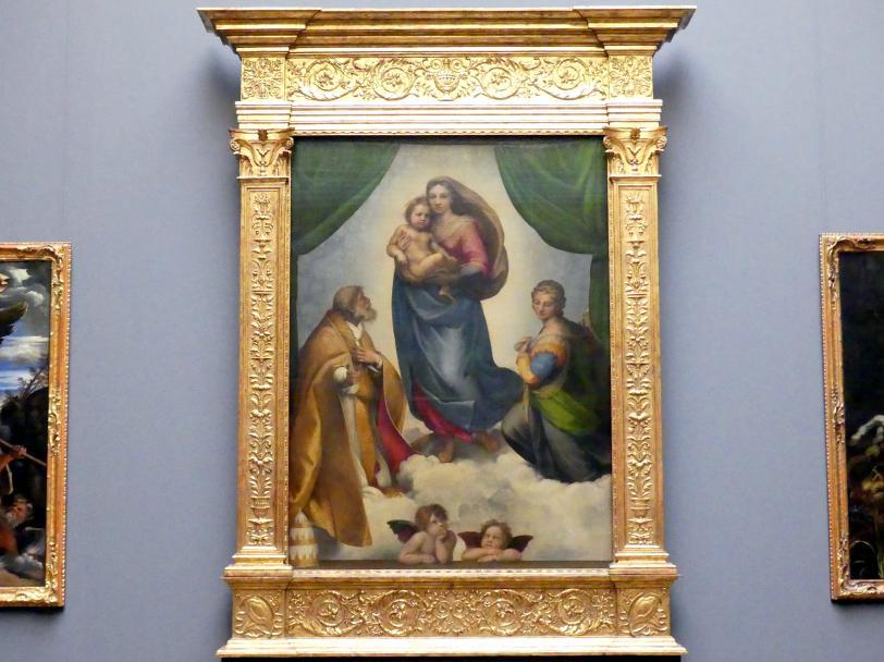 Raffaello Santi (Raffael): Die Sixtinische Madonna, 1512 - 1513