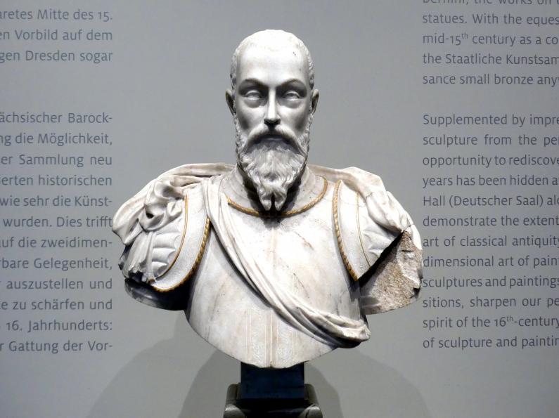 Giovanni Battista Bonometti: Moritz Kurfürst von Sachsen, um 1550 - 1570