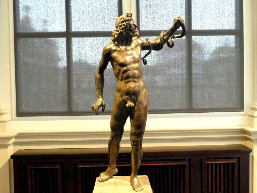 Francesco di Giorgio Martini: Nackter Mann mit Schlange (Äskulap?), Um 1495